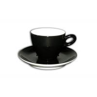 Alta cappuccinokopje - Zwart