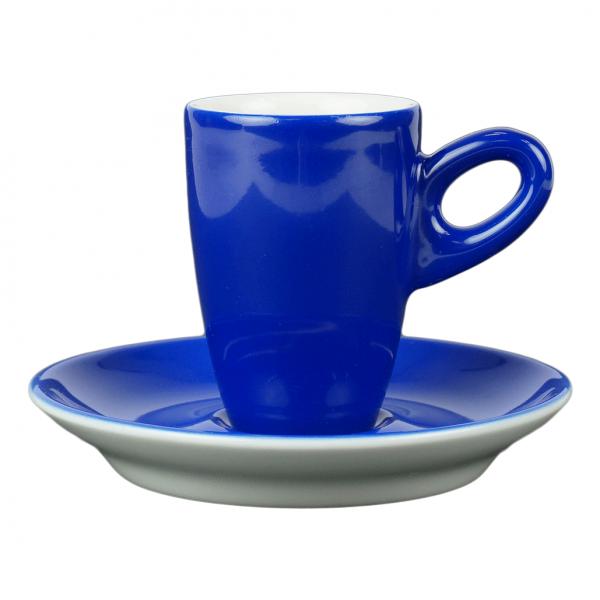 Alta espressokopje met schotel - Blauw