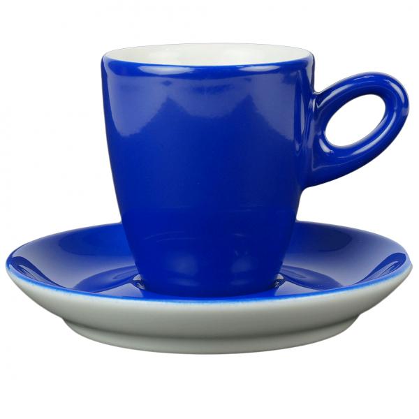 Alta koffiekopje met schotel - Blauw
