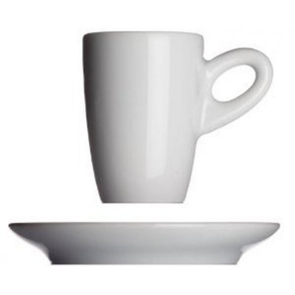 Walkure espressokop met schotel - Wit