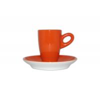 Alta espressokopje met schotel - Oranje
