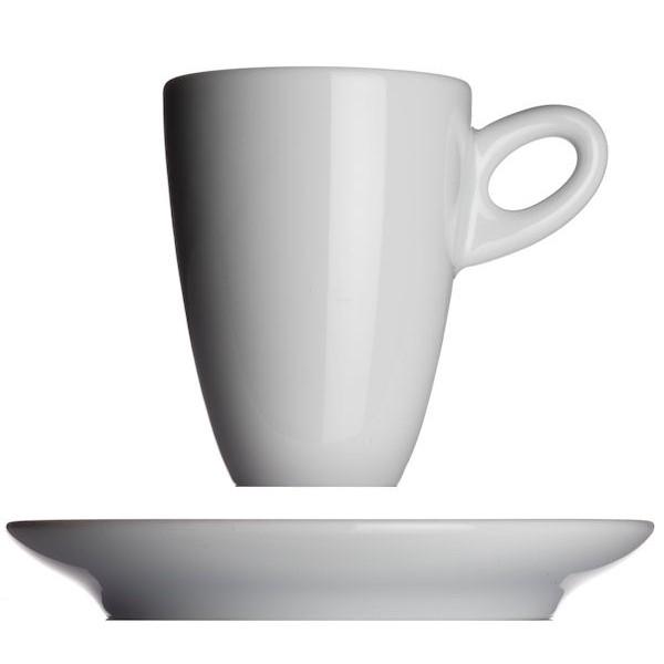 Walkure koffiekop met schotel - Wit